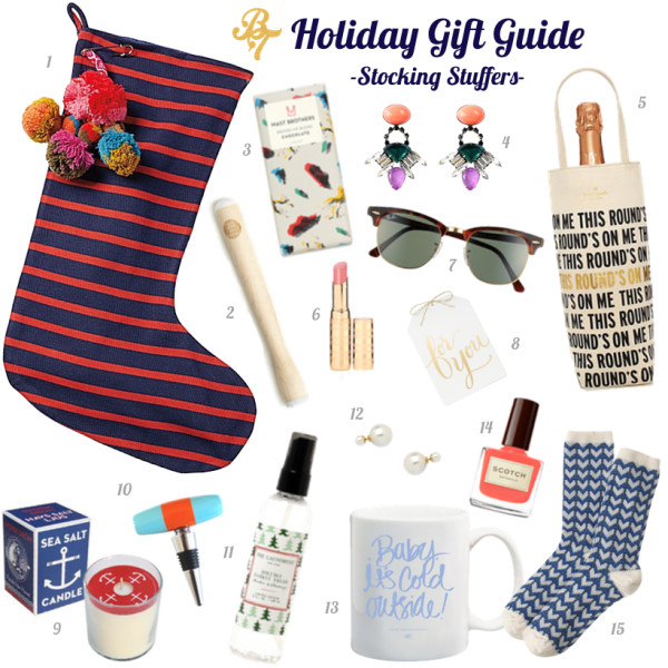 2015 Gift Guide- stocking stuffers