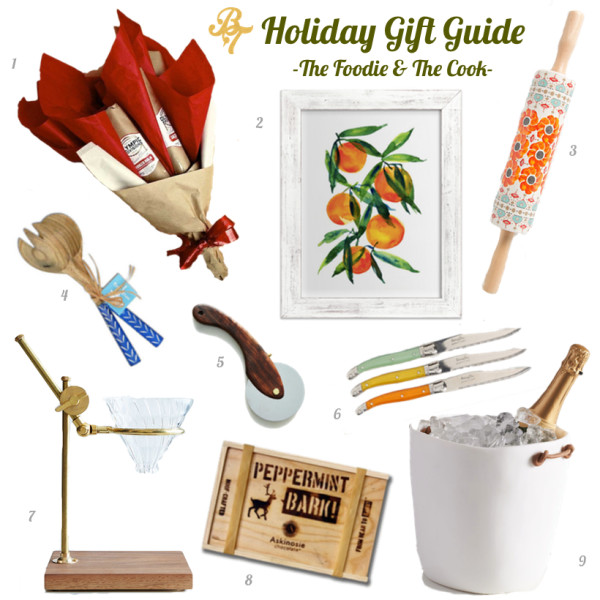 2015 Gift Guide- Foodie